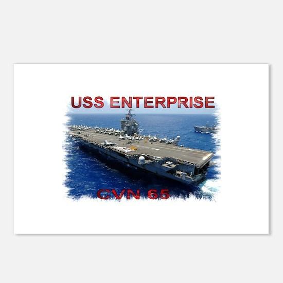 USS Enterprise Postcards (Package of 8)