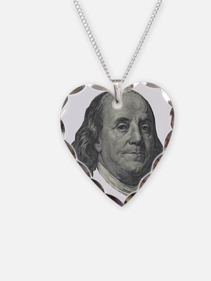 Franklin $100 Design Necklace