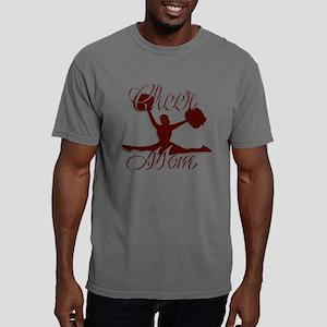 CHEER MOM 2 CRIMSON Mens Comfort Colors Shirt