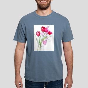 Tulip2a Mens Comfort Colors Shirt