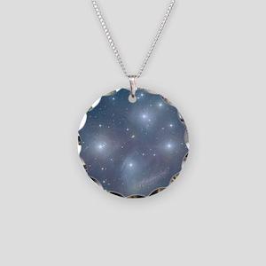 pleiadesornament4 Necklace Circle Charm