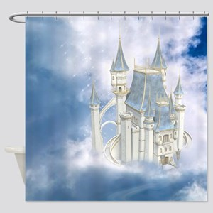 fc_Round Tablecloth 1174_H_F Shower Curtain