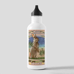 Art Nouveau Rabbit Stainless Water Bottle 1.0L