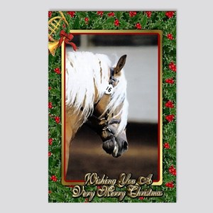 Haflinger Horse Christmas Postcards (Package of 8)