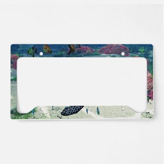 st_Beach Towel 1235_V_F License Plate Holder