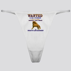 Wanted Classic Thong