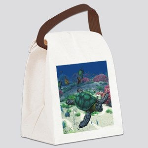 st_Baby Blanket 1214_H_F Canvas Lunch Bag