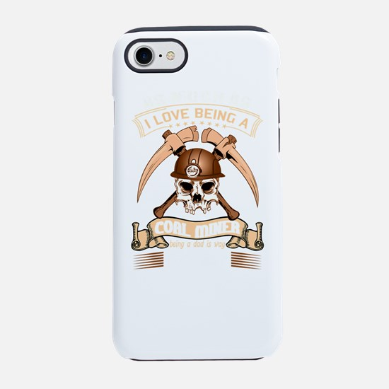 Coal Miner Stationery iPhone 7 Tough Case