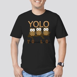 YOLO Men's Fitted T-Shirt (dark)