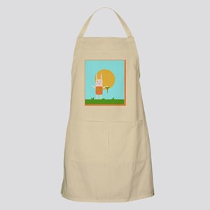 Bunny Picking Carrots Apron