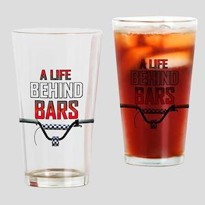 BMX A Life Behind Bars Drinking Glass