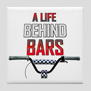 BMX A Life Behind Bars Tile Coaster