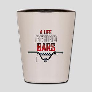 BMX A Life Behind Bars Shot Glass