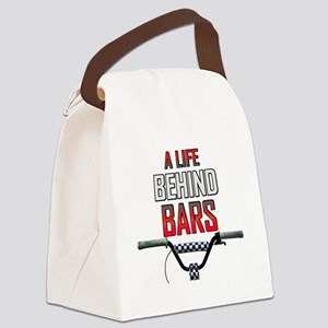 BMX A Life Behind Bars Canvas Lunch Bag