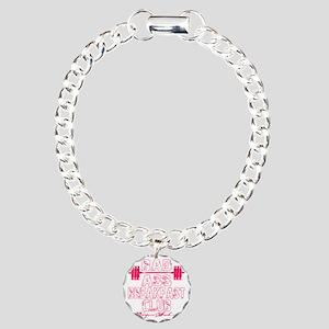 badassbreakfastclub - pi Charm Bracelet, One Charm