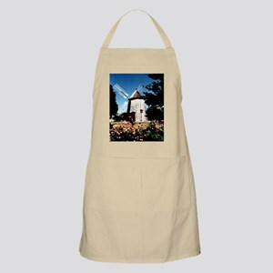 Eastham Lighthouse watercolor photo Apron