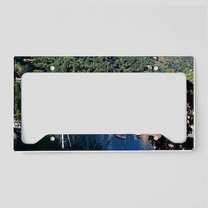 Portofino overview License Plate Holder