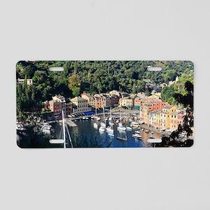 Portofino overview Aluminum License Plate