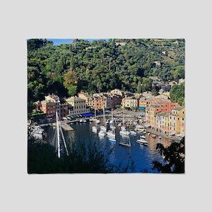 Portofino overview Throw Blanket