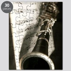Clarinet and Musc Flip Flops Band Puzzle