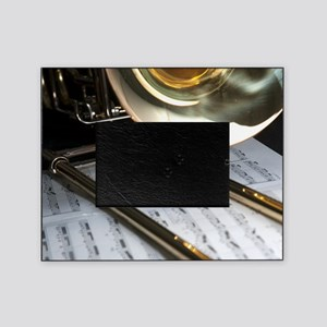 Trombone and Music Shirt Picture Frame