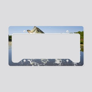 Miss Bass License Plate Holder