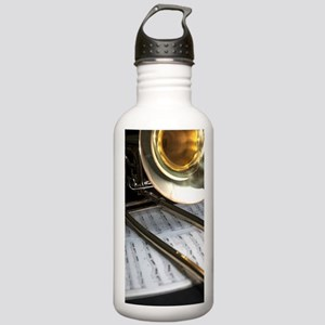 Trombone and Music and Stainless Water Bottle 1.0L