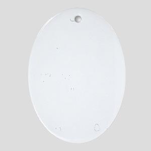Pedal Board Oval Ornament
