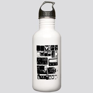 Pedal Board black Stainless Water Bottle 1.0L