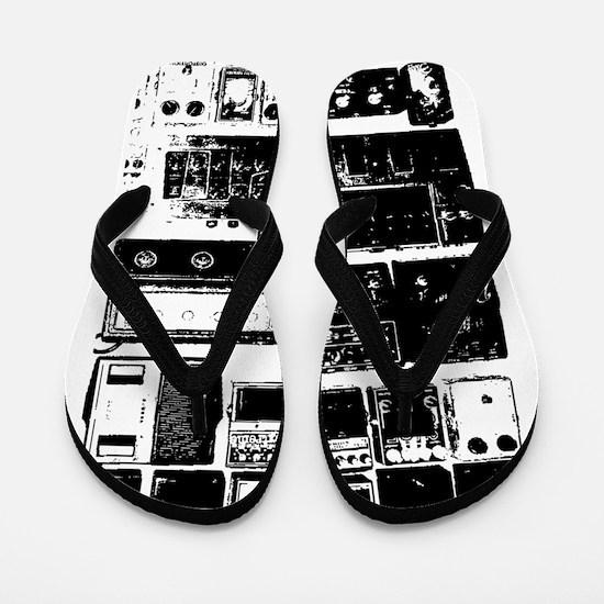 Pedal Board black Flip Flops