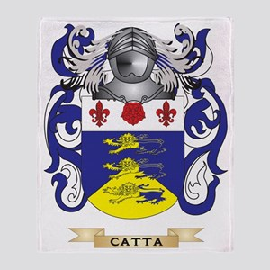 Catta Coat of Arms Throw Blanket