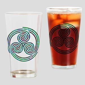 Triple Spiral - 7 Drinking Glass