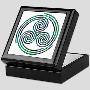 Triple Spiral - 7 Keepsake Box