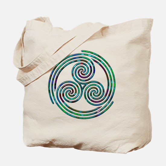 Triple Spiral - 7 Tote Bag