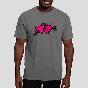 00151565pnkblk Mens Comfort Colors Shirt