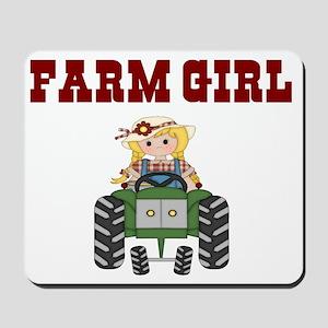 FARM GIRL Mousepad