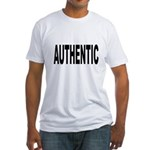 Authentic (Front) Fitted T-Shirt