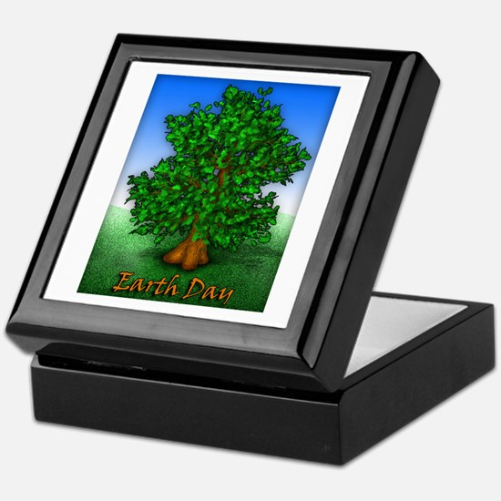 Earth Day Tree Keepsake Box