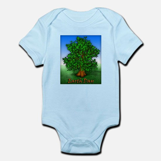 Earth Day Tree Infant Bodysuit