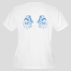Blue Angel Women's Plus Size V-Neck T-Shirt