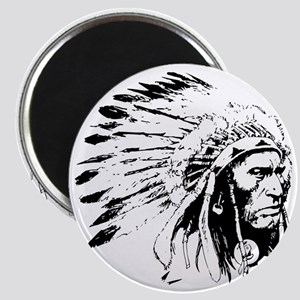 Native American Chieftain Magnet