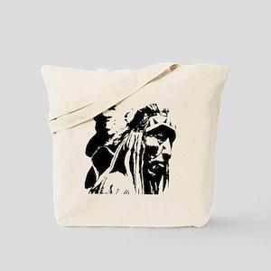 Native American Chief Art Tote Bag