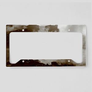 Furnas volcano License Plate Holder