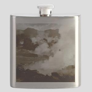 Furnas volcano Flask