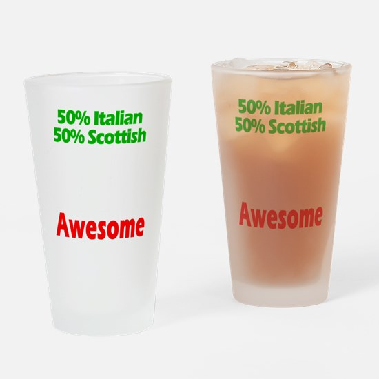 Italian - Scottish Drinking Glass