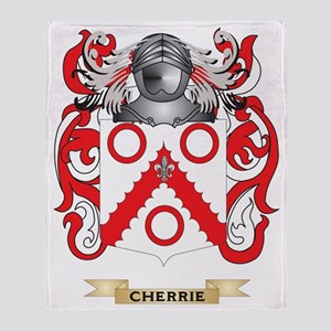Cherrie Coat of Arms Throw Blanket