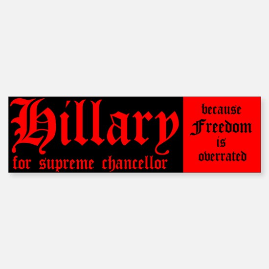 Hillary For Supreme Chancellor
