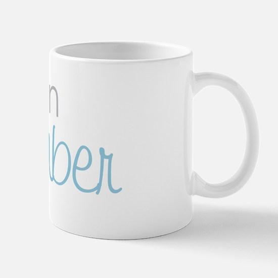 due in december blue Mug