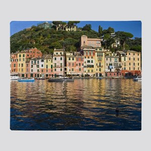 Portofino, Italy Throw Blanket