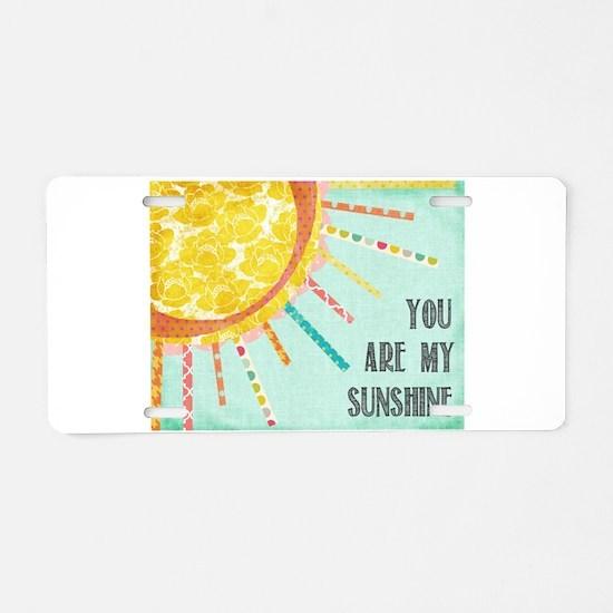 sunshine10 Aluminum License Plate
